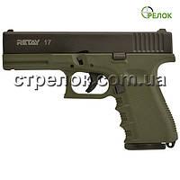 Пистолет стартовый Retay G 17 Olive