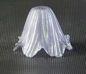 Плафон калифорния сиреневый-серебряный, цоколь Е14