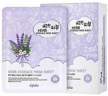 Маска тканевая c травами Esfolio Pure Skin Herb Essence Mask Sheet