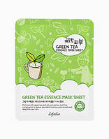 Маска тканевая c зеленым чаем Esfolio Pure Skin Green Tea Essence Mask Sheet
