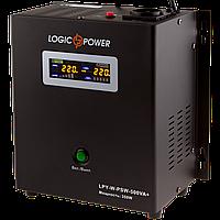 ИБП с правильной синусоидой LogicPower LPY-W-PSW-500VA+(350W)5A/10A 12V для котлов и аварийного освещения
