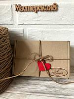 Бумажный шпагат ( шнур, жгут)  для декора и упаковки, цвет крафт