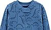 Хлопковый слип человечек Дино синий Картерс Carter's Dinosaur Zip-Up Cotton Sleep & Play, фото 2