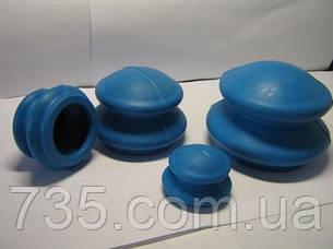 Банки массажные резиновые вакуумные, фото 2