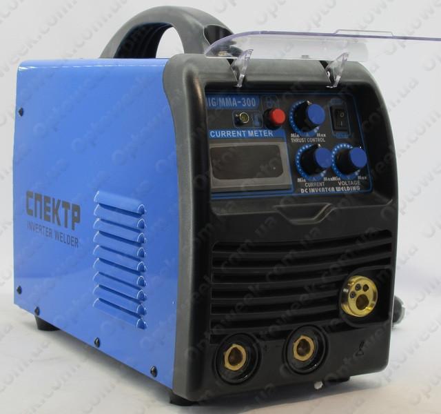 Зварювальний напівавтомат спектр mig/mma-300a