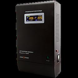 ИБП с правильной синусоидой LogicPower LPY-W-PSW-5000VA+(3500W)10A/20A 48V для котлов и аварийного освещения