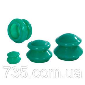 Банки силиконовые вакуумные для массажа, фото 2