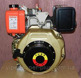Дизельный двигатель 178F в сборе (ручной стартер) 6 л.с