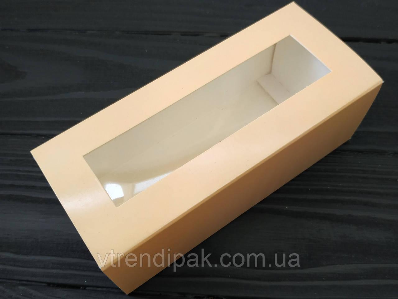 Коробка для macarons 140*50*60 пастель