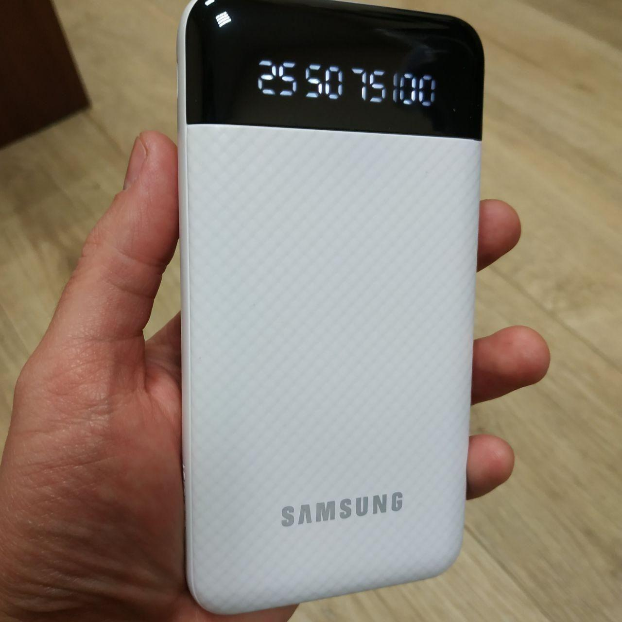 Power Bank Samsung 20000 mAh с фонариком повер банк внешний аккумулятор Самсунг реплика, фото 1