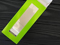 Коробка для macarons 140*50*60 салатовий, фото 1