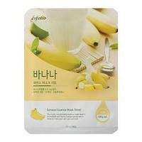 Маска тканевая c бананом Esfolio Banana Essence Mask Sheet