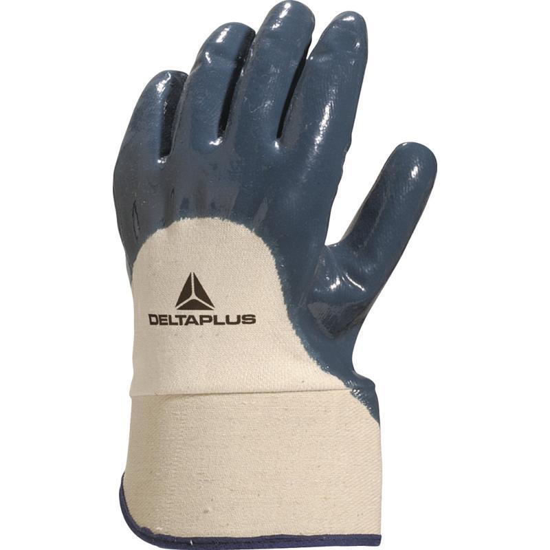 Перчатки рабочие нитрил DELTA PLUS NI170
