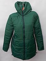 Куртка женская демисезонная БАТАЛ (52-60) - купить оптом со склада Одесса  7км 1c995437e2fdf