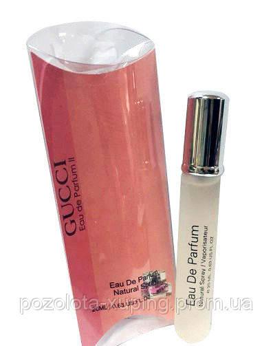 парфюм Gucci Parfume Ii Pink в миниатюре 20мл в категории
