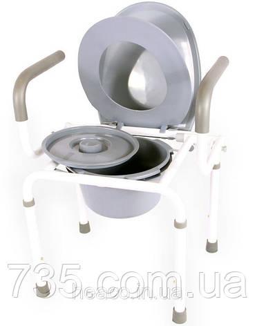 Стул для туалета с откидным подлокотником OSD-RB-2107D, фото 2