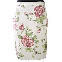 Кухонный фартук-юбка Large Pink Rose
