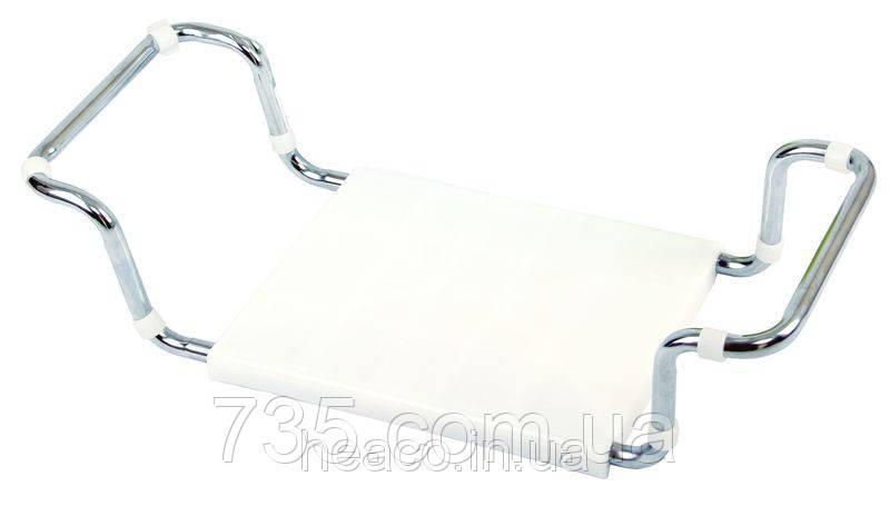 Пластиковое сиденье для ванны  Без спинки: OSD-2201, фото 2