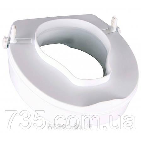 "Туалетное сиденье с фиксатором ""Teseo"" (14 см) OSD-TESEO-14PP, фото 2"