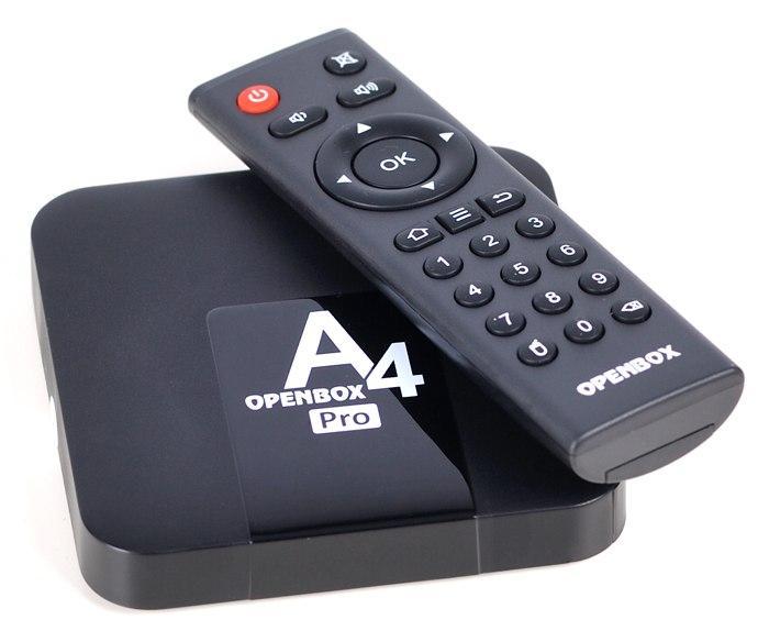 Openbox А4 PRO 2/16GB Smart TV (смарт тв) Android приставка , фото 1