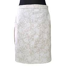 Кухонный фартук-юбка White Rose
