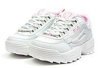 Кроссовки женские  Fila Disruptor 2, белые (14484) размеры в наличии ► [  40 (последняя пара)  ]