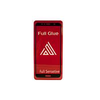 Защитное стекло Рамка FullGlue Huawei Y6 (2018)/Honor 7A Pro черный