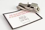 Модель автомобиля, Bugatti Royale, миниатюра, олово, Franklin Mint, Малайзия , фото 2