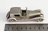 Модель автомобиля, Bugatti Royale, миниатюра, олово, Franklin Mint, Малайзия , фото 9