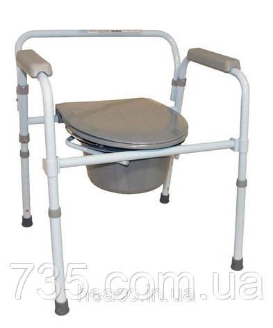 Складной стул-туалет OSD-RB-2110, фото 2