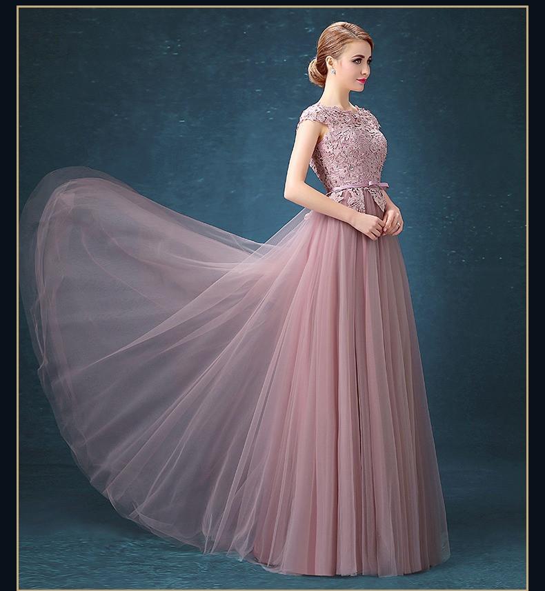 5baf9c4dc86b16d Розовое платье на выпускной. Розовое вечернее нежное платье с вышивкой
