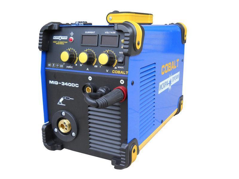 Сварочный полуавтомат искра профи cobalt mig-340dc