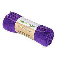 Полотенце Микрофибра 300 г/м2 (35 х 75 см) для спорта, массажа, йоги, туризма фиолетовый
