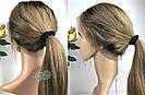 ✨ Парик из натуральных волос с отросшими корнями, прямые волосы ✨, фото 6
