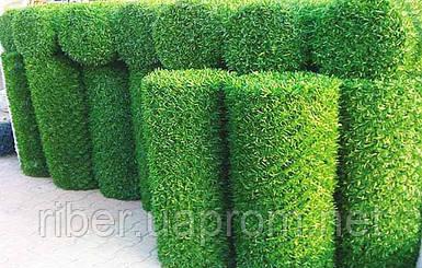 Сетка рабица с ПВХ покрытием  Н- 1,2м. Dark Green и Mixed Green (ЗЕЛЕНЫЙ ЗАБОР)
