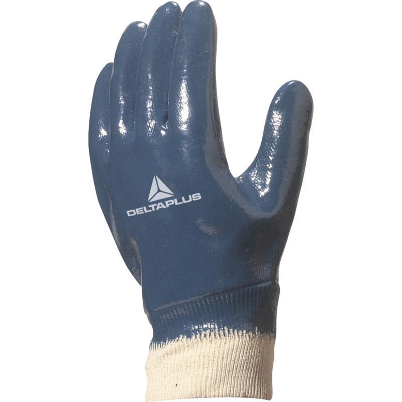 Перчатки рабочие нитрил DELTA PLUS NI155