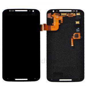 Дисплей с тачскрином Motorola XT1032 Moto G, XT1033, XT1036 черный