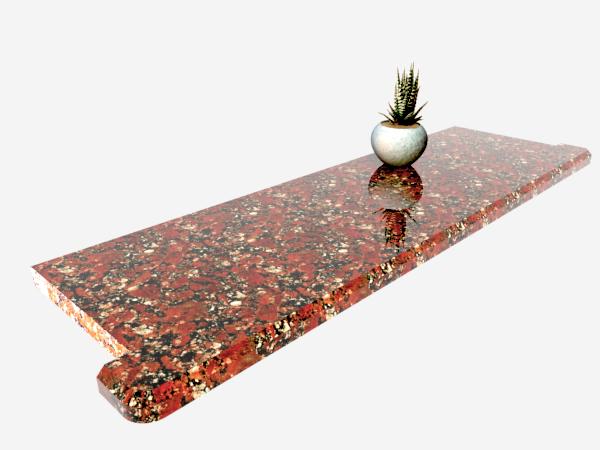 Подоконник гранитный Капустинский 1000×300×30