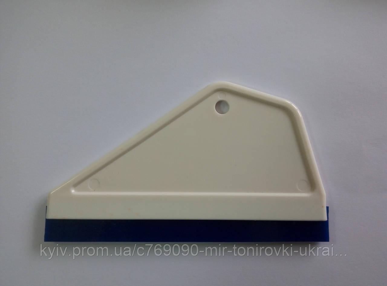 Выгонка белая с синей вставкой 15 см