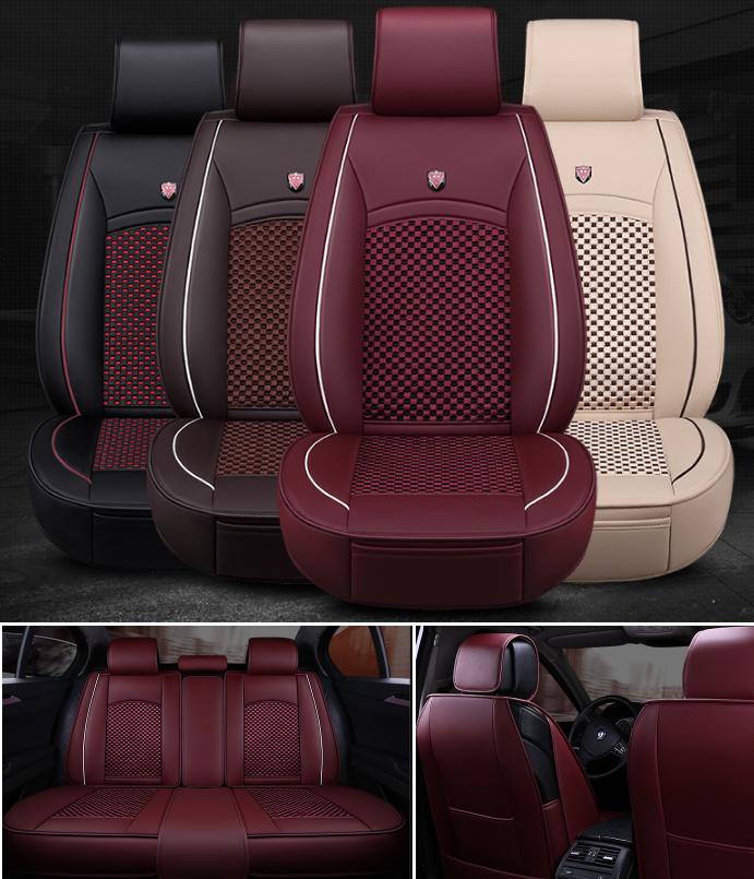 Модельные чехлы XC на передние и задние сиденья автомобиля Audi A6