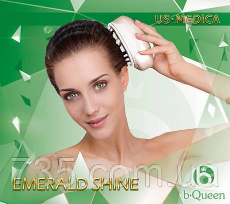 Прибор для массажа головы US MEDICA Emerald Shine, фото 2