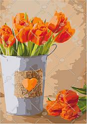 Картина по номерам Праздник любви (KHO2940) 35 х 50 см Идейка [Без коробки]