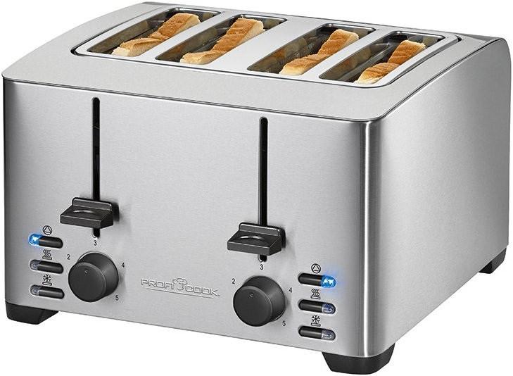 Тостер Profi Cook PC-TA (Отправка в день заказа) 1073 на 4 тоста