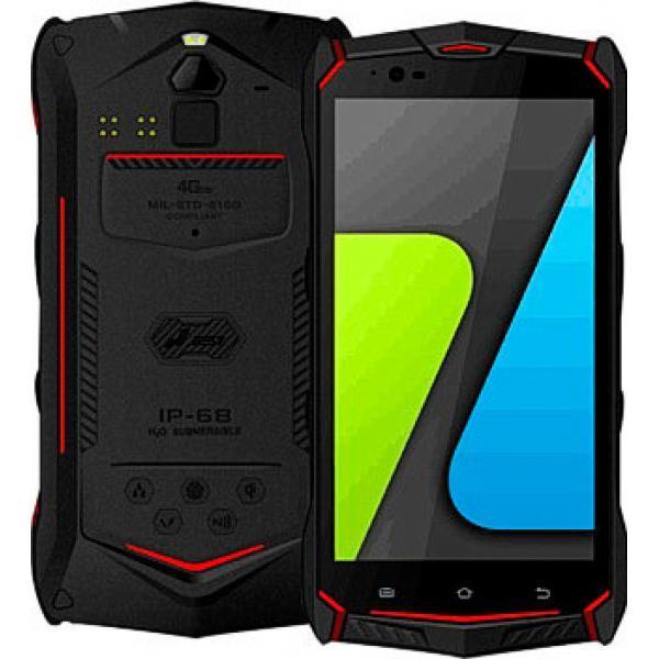 """Смартфон Jesy J9 (Jesy J9S) 4/64 Red, 16/8Мп, 5.5""""IPS, 4G, 6150мАh, 2SIM, IP69k, 8 ядер, Helio P10"""
