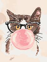 Картина по номерам Bubble Gum (KHO4050) 30 х 40 см Идейка [Без коробки]