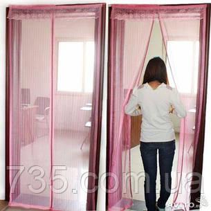 Антимоскитная сетка розовая, фото 2
