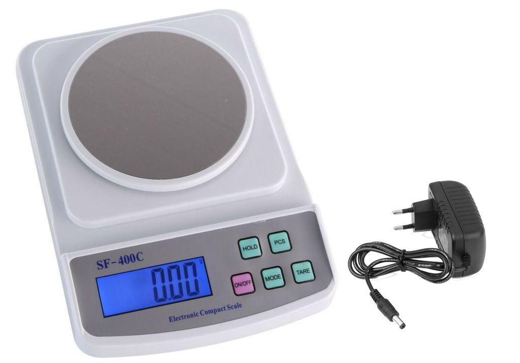 Весы лабораторные электронные SF-400-C (500 г, 0.01 г)