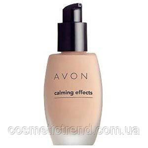 Тон для лица с успокаивающим эффектом Ivory (прозрачный светлый) 30 ml Calming Effect  Avon