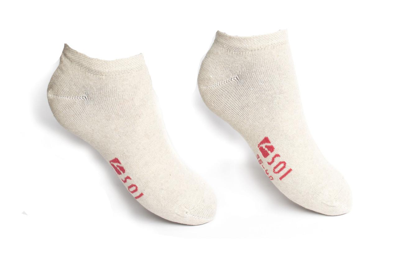 Шкарпетки короткі жіночі SOI Слід 23-25 р. (36-40)