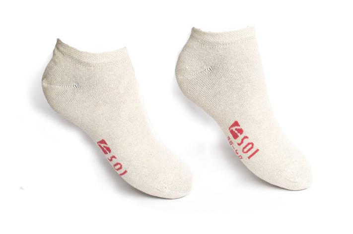 Носки короткие женские SOI следы 23-25 г. (36-40), фото 2